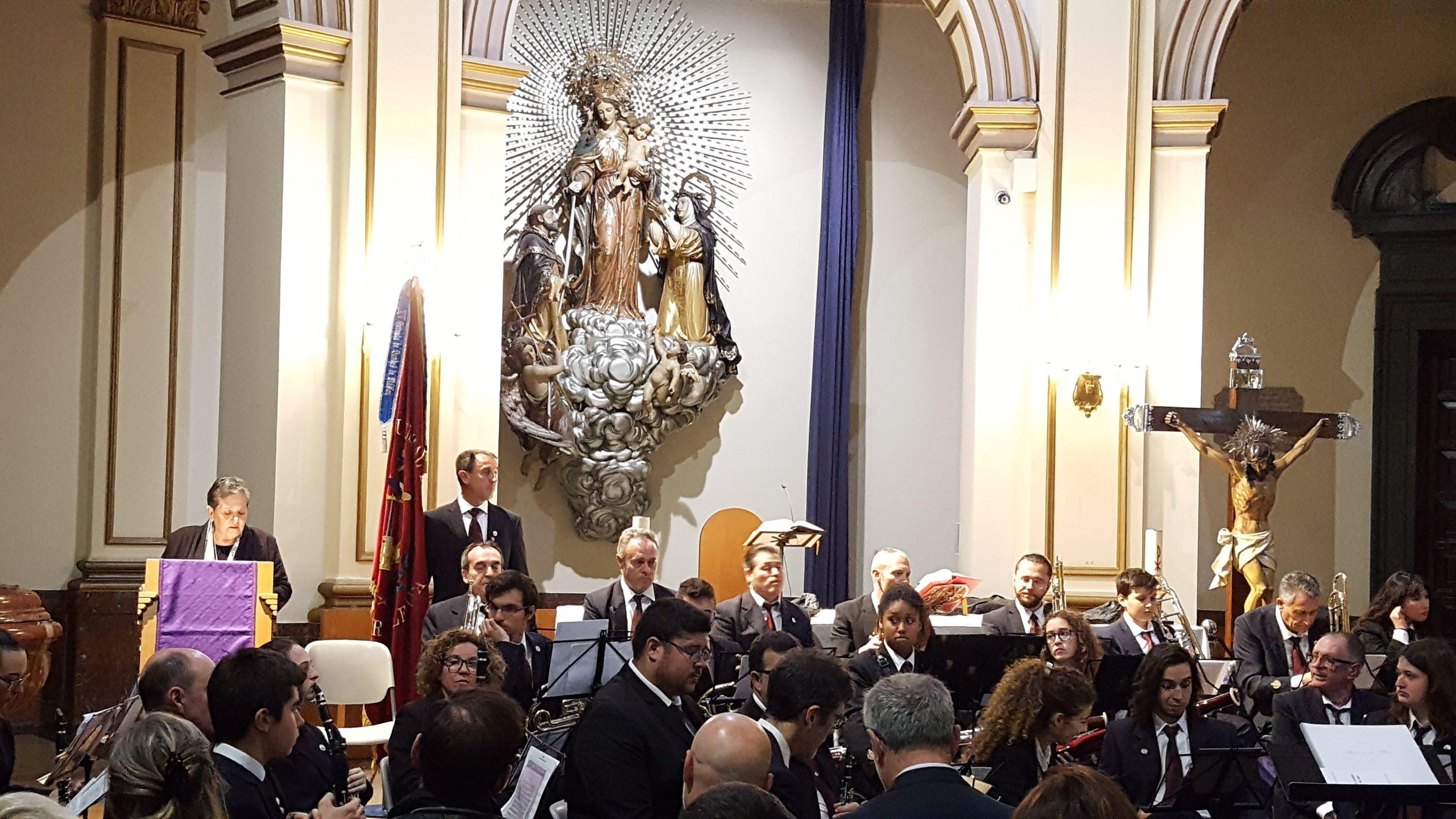 La banda del Ateneo Musical del Puerto protagonista en el Concierto de Inicio de Cuaresma