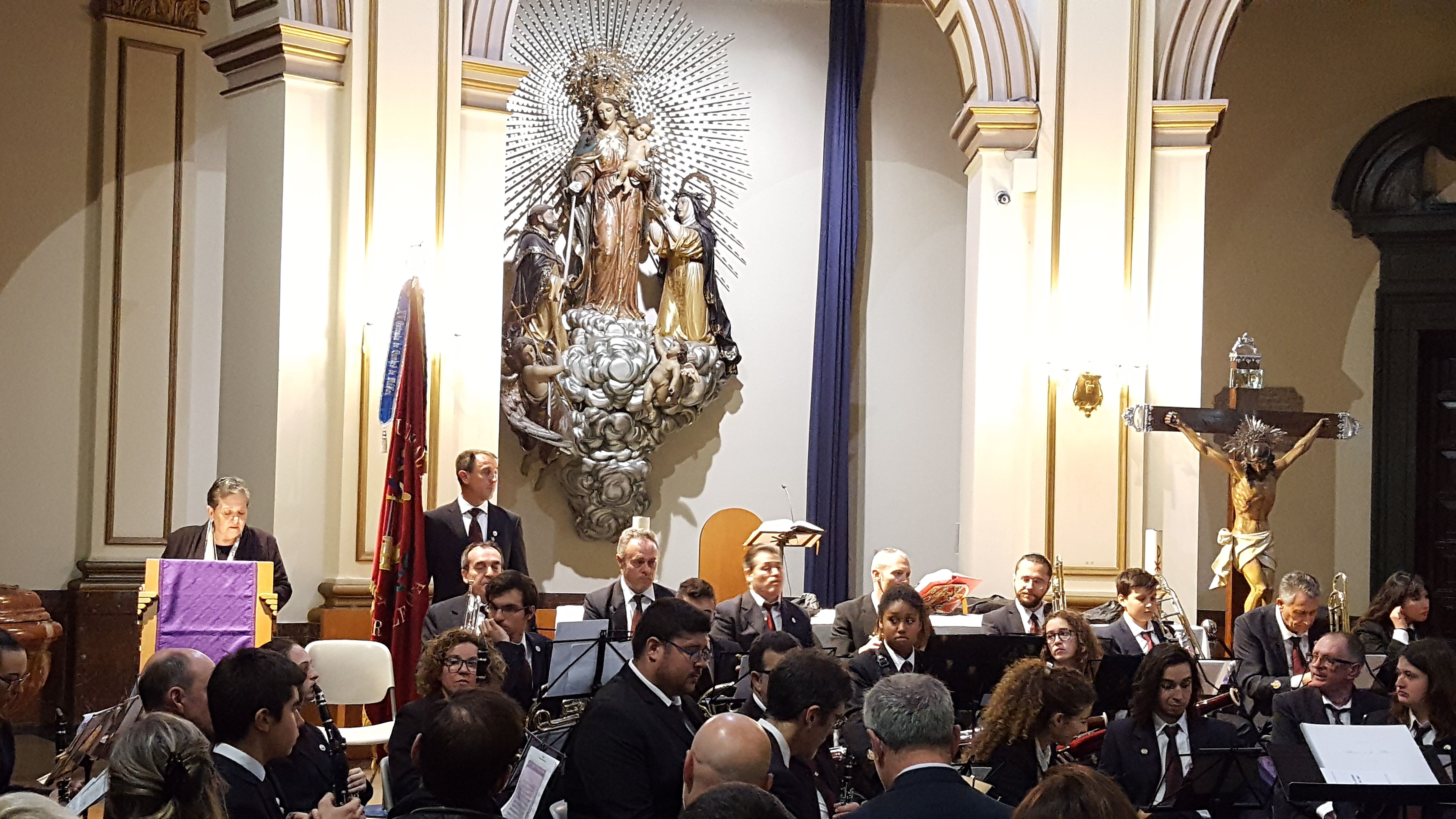 La Banda de l'Ateneu Musical del Port protagonista en el Concert de l'inici de Quaresma
