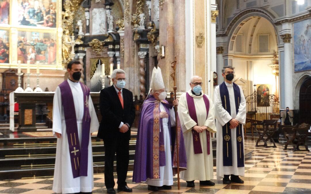 La Semana Santa Marinera protagonista de una Oración Cuaresmal celebrada en la Catedral de València
