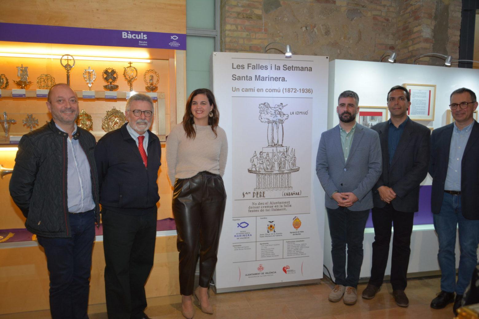 "Inauguración de la Exposición ""Falles i Setmana Santa, un camí en comú"""