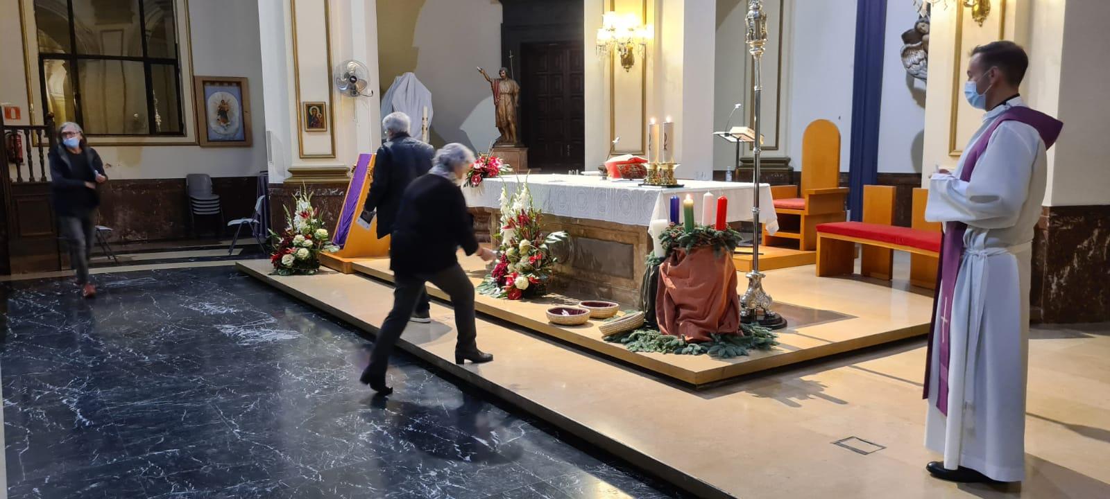 La Setmana Santa Marinera de València celebra l'Oració d'Advent