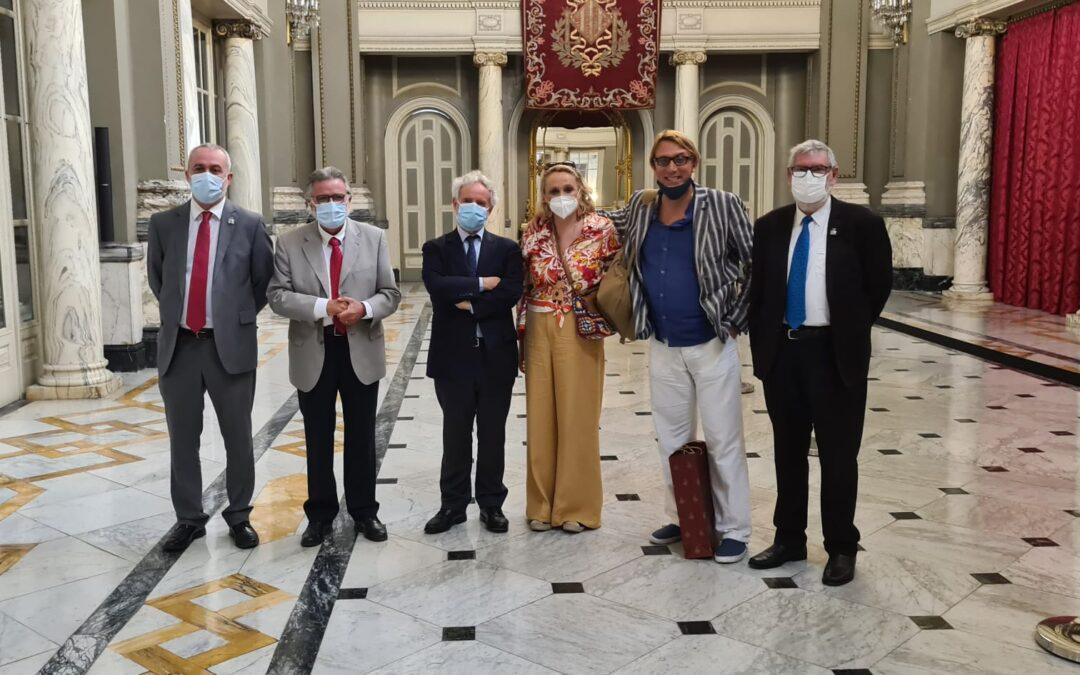 Hermanamiento de la Semana Santa Marinera de València con la Semana Santa de Enna en Sicilia